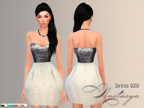 Dress 020 at Nastasya94 image 3581 Sims 4 Updates