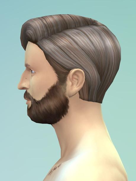 Sims 4 Long wavy classic edit M at Rusty Nail