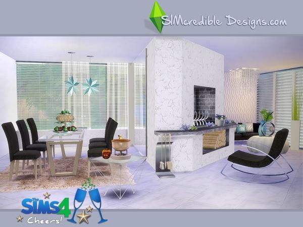 Christmas Diningroom Set By SIMcredible At TSR