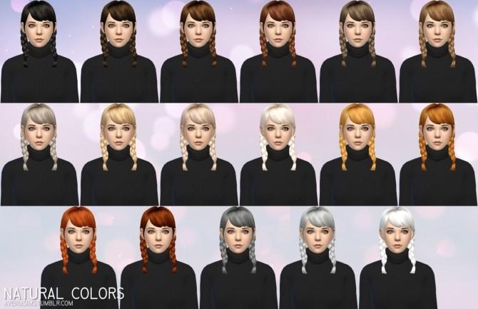 Sims 4 Clay hair retextures at Aveira Sims 4