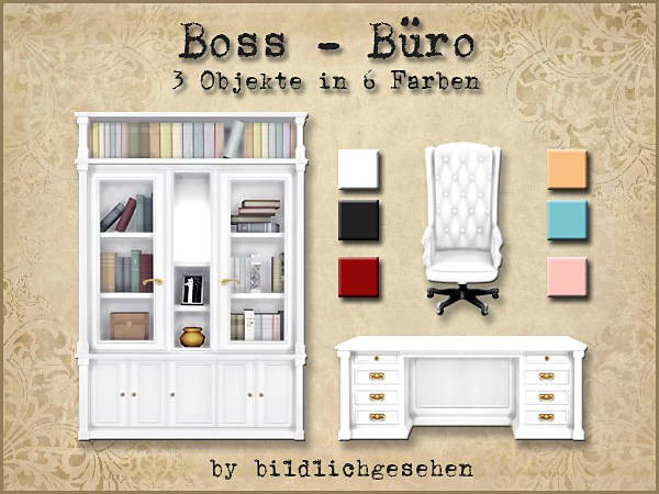 Boss office by Bildlichgesehen at Akisima image 374 Sims 4 Updates