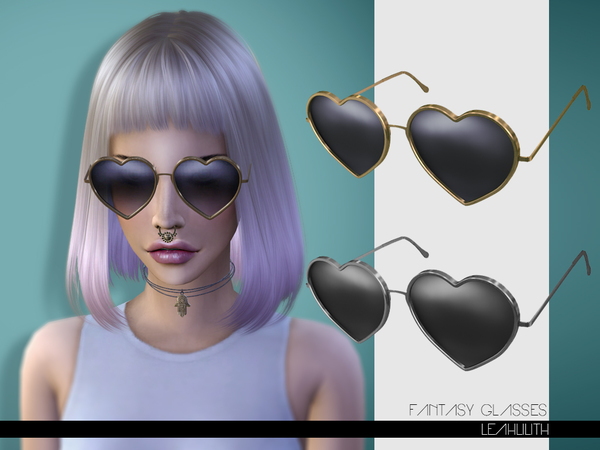 Sims 4 Fantasy Glasses by LeahLilith at TSR