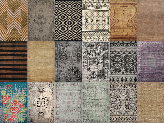 Sims 4 Misc rugs at MIO