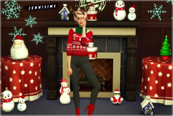 Decoration Pack Christmas Feeling at Jenni Sims image 4018 670x450 Sims 4 Updates