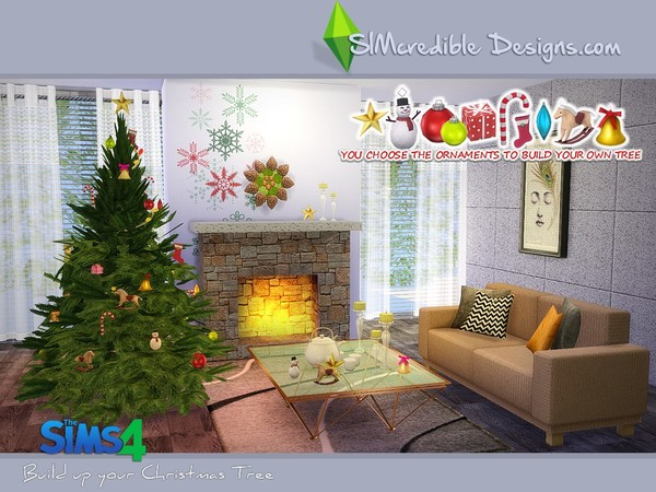 Build up your Christmas tree by SIMcredible! at TSR image 4100 Sims 4 Updates