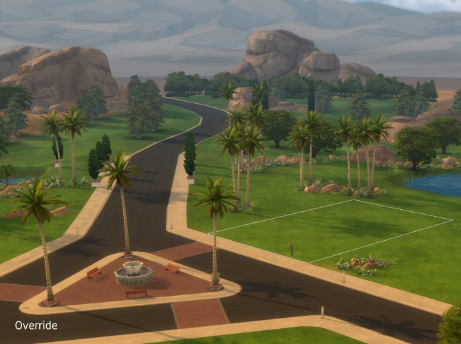 Sims Worlds Downloads Sims Updates - Blank world map sims 3