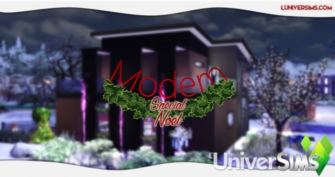 Modern Christmas Special House by Will at L'UniverSims image 4417 670x355 Sims 4 Updates