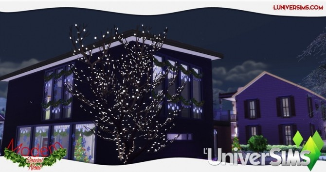 Modern Christmas Special House by Will at L'UniverSims image 4517 670x355 Sims 4 Updates