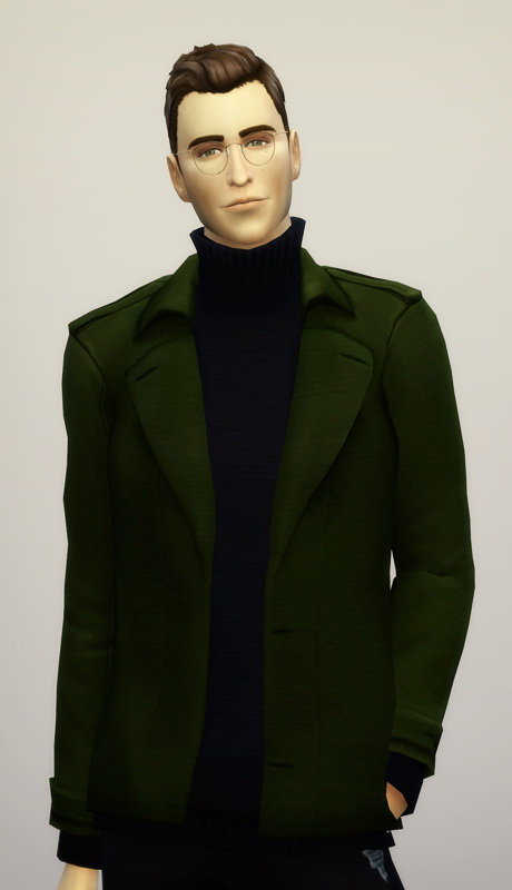 Aw Turtleneck Sweater Coat M 20 Colors At Rusty Nail