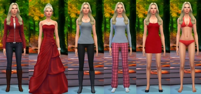 Sims 4 Emma Swan from Once Upon a Time by luizgofman at Mod The Sims