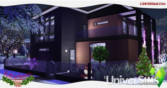 Modern Christmas Special House by Will at L'UniverSims image 4617 670x355 Sims 4 Updates