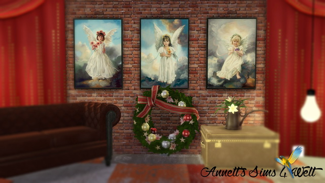 Sims 4 Angel Paintings at Annett's Sims 4 Welt