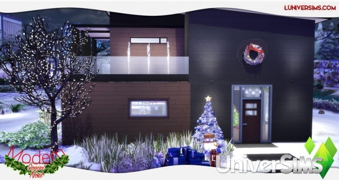 Modern Christmas Special House by Will at L'UniverSims image 4717 670x355 Sims 4 Updates