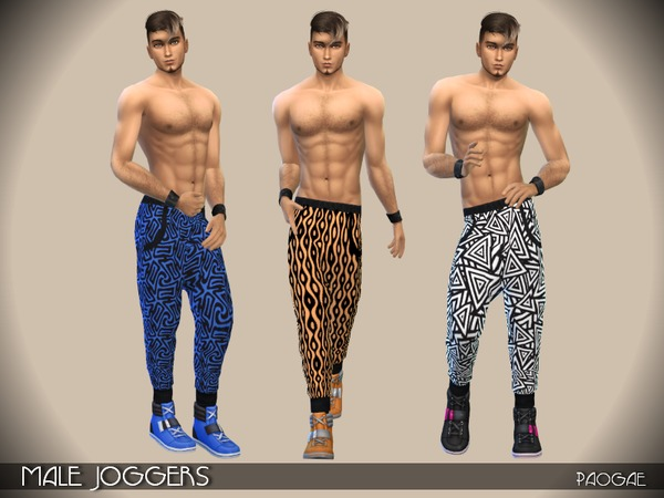Male Joggers by Paogae at TSR image 4723 Sims 4 Updates