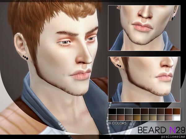 Sims 4 Beard Minipack 3.0 by Pralinesims at TSR