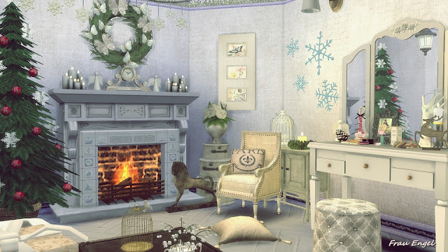 Sims 4 The Winters Tale Shabby Chic Cottage at Frau Engel