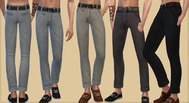 Sims 4 Tweed Pants at Bukovka