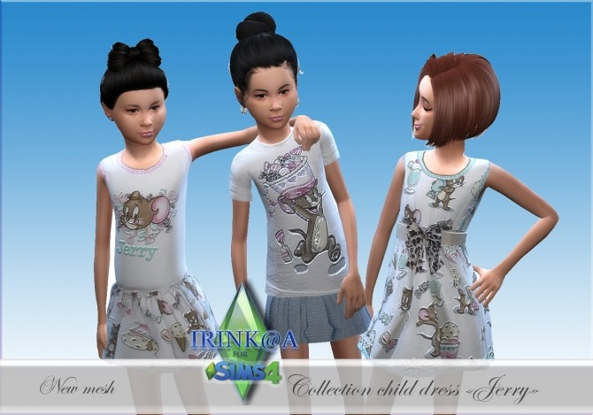 Jerry Collection dresses for kids at Irink@a image 497 670x469 Sims 4 Updates