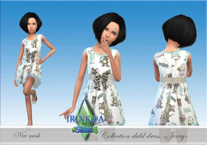 Jerry Collection dresses for kids at Irink@a image 508 670x469 Sims 4 Updates