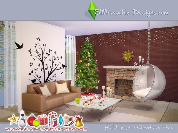 Build up your Christmas tree by SIMcredible! at TSR image 5101 Sims 4 Updates