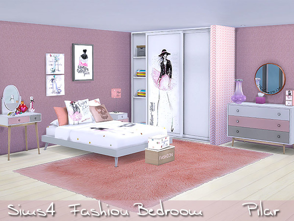 Fashion Bedroom By Pilar At TSR Sims 4 Updates