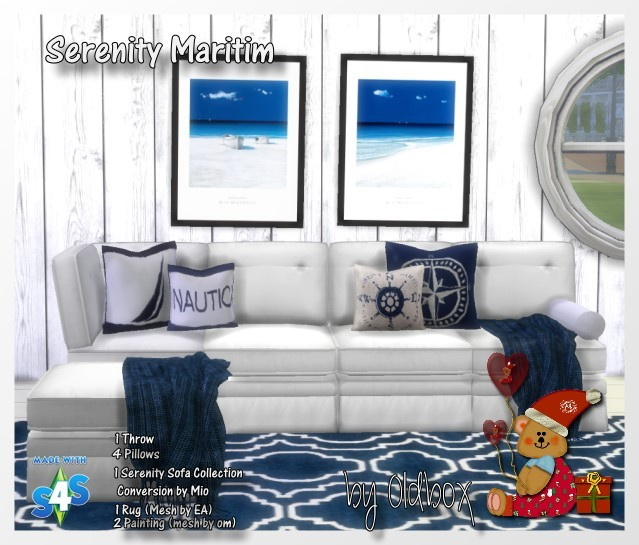 Serenity Maritim Set By Oldbox At All 4 Sims Sims 4 Updates
