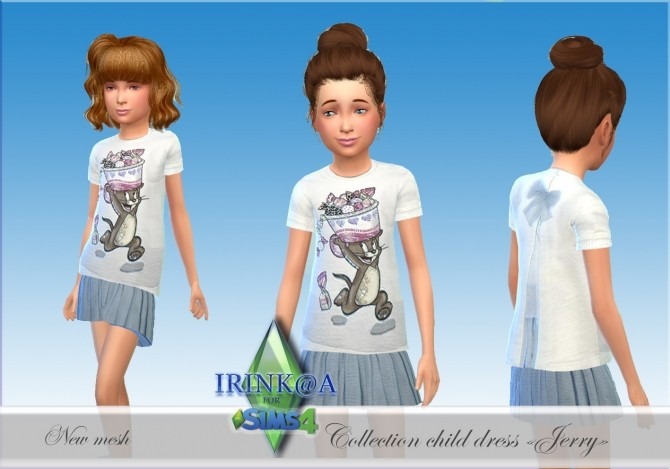 Jerry Collection dresses for kids at Irink@a image 5210 670x469 Sims 4 Updates