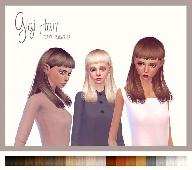 Sims 4 Gigi hair at Dani Paradise