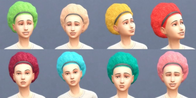Get To Work Hairs in Hunings Pony Colors by lottidiezweite at Mod The Sims image 526 670x336 Sims 4 Updates