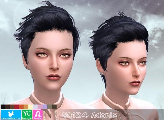 Sims 4 YU124 Adonis hair (PAY) at Newsea Sims 4