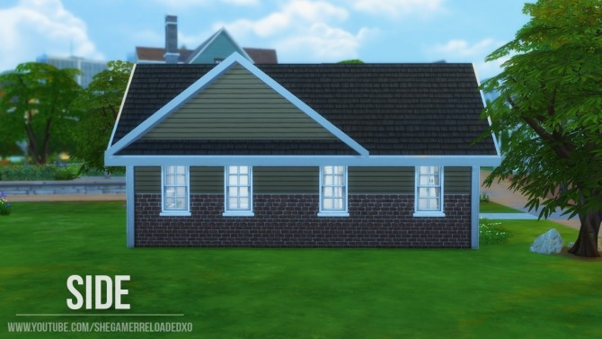 Sims 4 Rosewood house by SheGamerReloaded at Mod The Sims