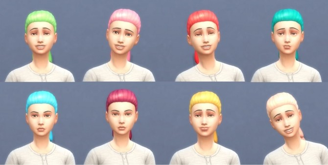 Get To Work Hairs in Hunings Pony Colors by lottidiezweite at Mod The Sims image 546 670x337 Sims 4 Updates