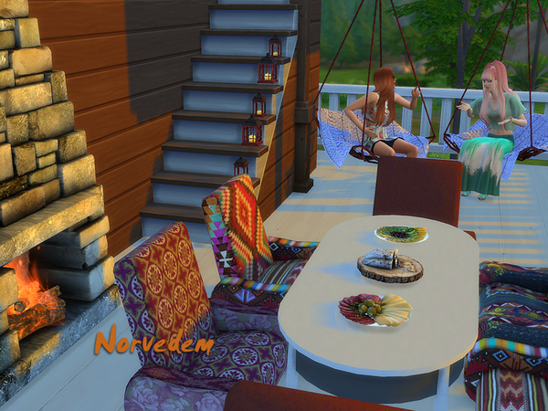Norvedem 16 objects for outdoor by Kiolometro at Sims Studio image 55 Sims 4 Updates
