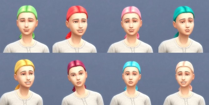 Get To Work Hairs in Hunings Pony Colors by lottidiezweite at Mod The Sims image 556 670x337 Sims 4 Updates