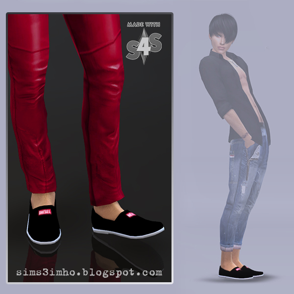 Male Shoes 01 at IMHO Sims 4 image 5620 Sims 4 Updates
