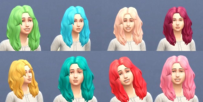 Get To Work Hairs in Hunings Pony Colors by lottidiezweite at Mod The Sims image 565 670x337 Sims 4 Updates
