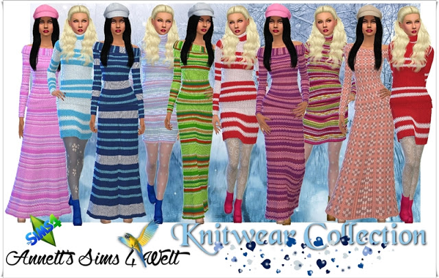 Knitwear Collection at Annett's Sims 4 Welt image 5717 Sims 4 Updates