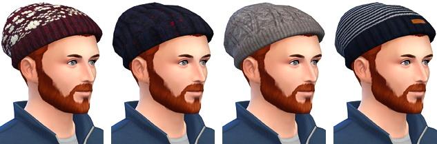 Sims 4 Winter Beanies + Woolen Gloves + Menswear Socks at Marvin Sims