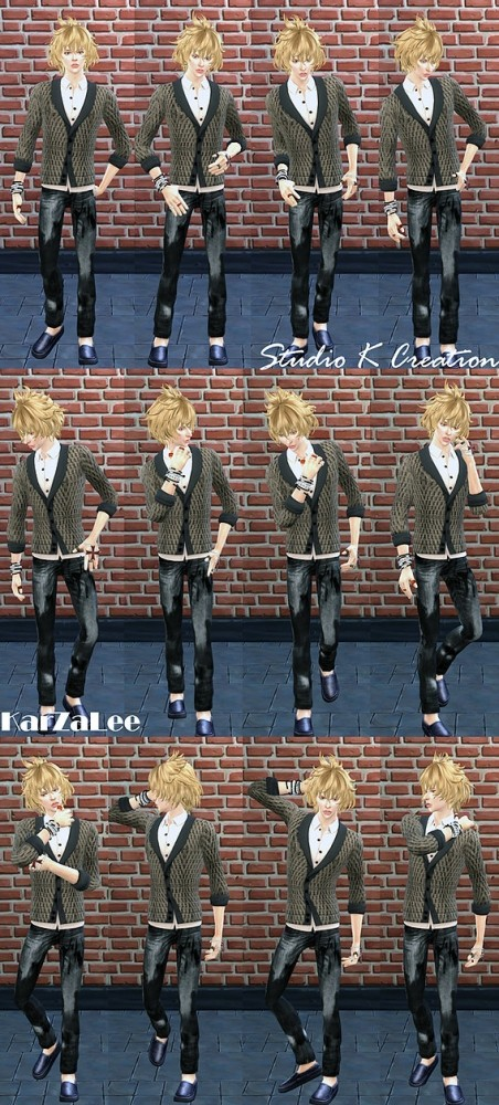 Sims 4 SKC Poses set 1 at Studio K Creation