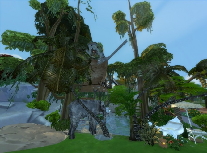 Jungle Adventure All in one lot by artrui at Mod The Sims image 5910 670x498 Sims 4 Updates