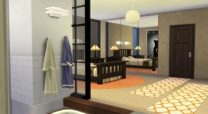 Sims 4 Près des quais house by Katnat at Sims Artists