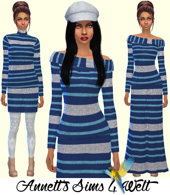 Knitwear Collection at Annett's Sims 4 Welt image 6017 Sims 4 Updates