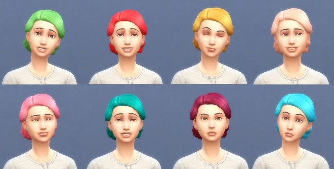 Get To Work Hairs in Hunings Pony Colors by lottidiezweite at Mod The Sims image 606 670x340 Sims 4 Updates