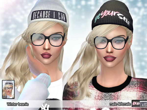 Sims 4 Too Cool for School Winter Mini Set by Pinkzombiecupcakes at TSR