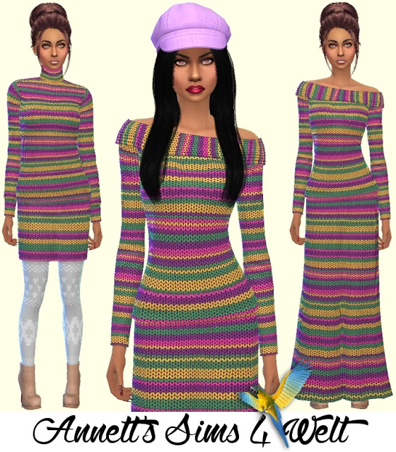 Knitwear Collection at Annett's Sims 4 Welt image 6120 Sims 4 Updates
