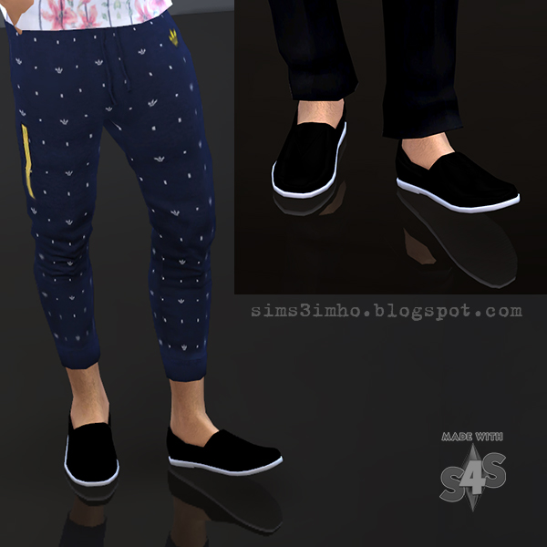 Male Shoes 01 At Imho Sims 4 187 Sims 4 Updates