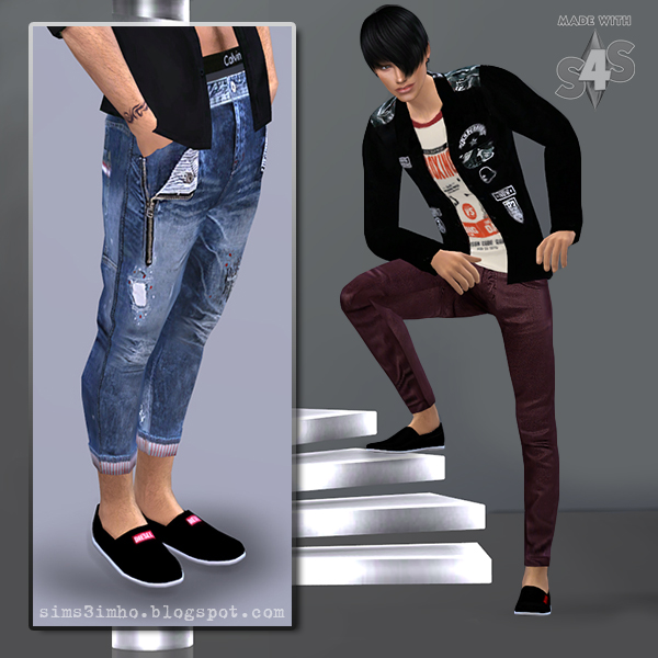 Male Shoes 01 at IMHO Sims 4 image 6220 Sims 4 Updates