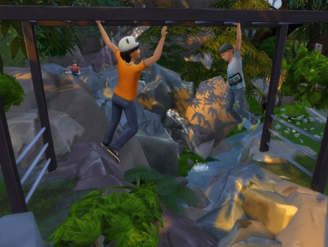 Sims 4 Jungle Adventure All in one lot by artrui at Mod The Sims