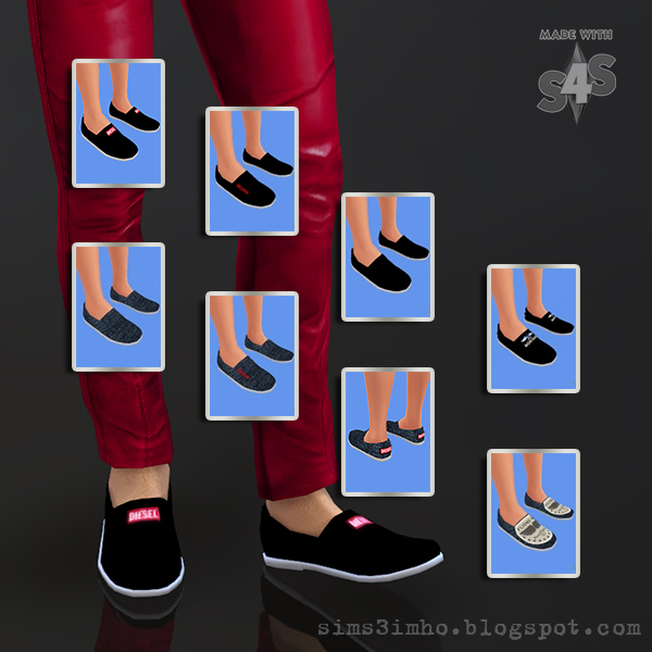 Male Shoes 01 at IMHO Sims 4 image 6319 Sims 4 Updates