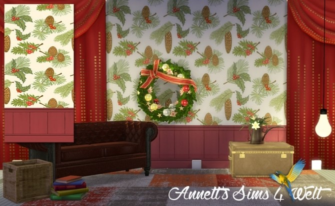 Sims 4 Christmas Wallpapers at Annett's Sims 4 Welt